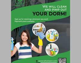 fatema4093 tarafından Design Dorm Cleaning Flier için no 64