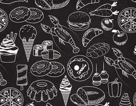 #7 para Wall design based on food evolution - tools or humans to be installed on Restaurant wall por khubabrehman0