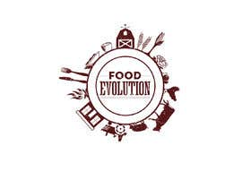 #1 para Wall design based on food evolution - tools or humans to be installed on Restaurant wall por Engineershahed