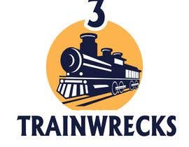 #151 for 3TrainWrecks Podcast Logo by ShimantoZi