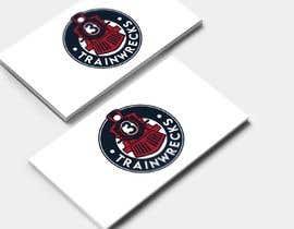 #121 for 3TrainWrecks Podcast Logo by mfawzy5663