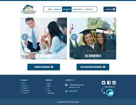 adhikery tarafından Design a Website Layout for Training company için no 32