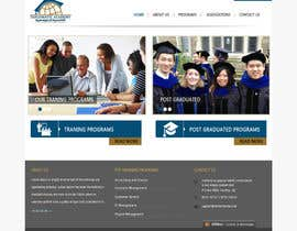 #9 for Design a Website Layout for Training company af websoft07