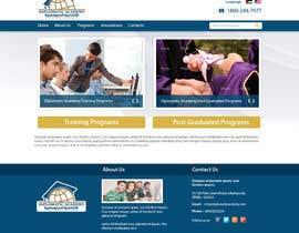 #29 cho Design a Website Layout for Training company bởi kethketh