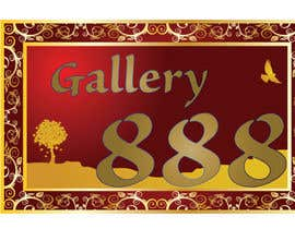 #6 for Design a Logo for Gallery 888 by tedatkinson123