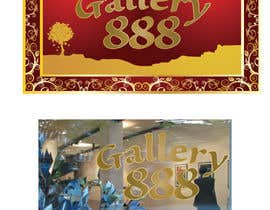 #26 for Design a Logo for Gallery 888 by tedatkinson123
