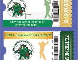 Nro 419 kilpailuun Business Card Design - Cricket Club käyttäjältä parvez1215