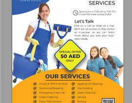 #113 cho flayer for cleaning services bởi alaminbappy01