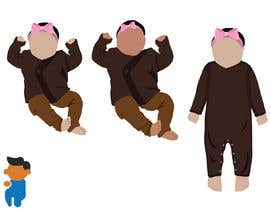 #23 for Out Line baby in Illustrator (.ai file) like my picture by masud39841