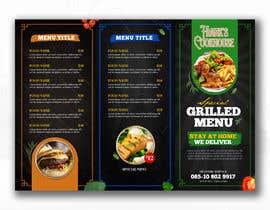 #86 cho Design a menu bởi glittergraphics
