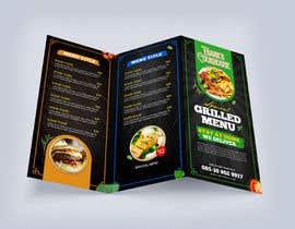 #88 cho Design a menu bởi glittergraphics