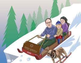 Nro 22 kilpailuun Family Holiday Card Drawing käyttäjältä Denisdean