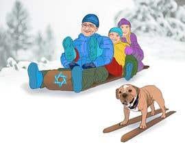 Nro 12 kilpailuun Family Holiday Card Drawing käyttäjältä Rdower