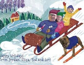 Nro 17 kilpailuun Family Holiday Card Drawing käyttäjältä vol88svt
