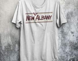 #117 para New Albany Spirit Wear Shirt Designs por rongoncomputer
