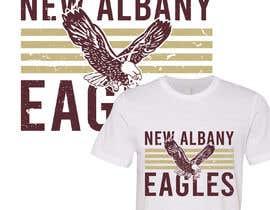 #287 para New Albany Spirit Wear Shirt Designs por rockztah89