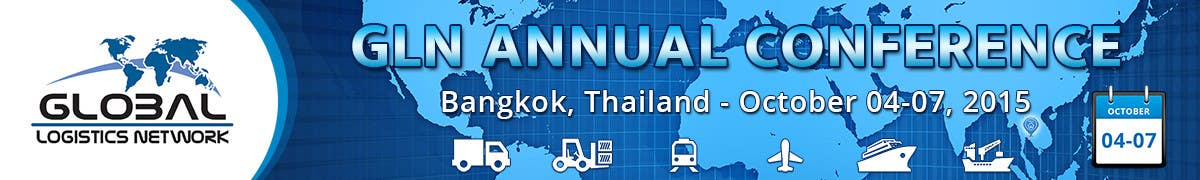 Bài tham dự cuộc thi #39 cho Design a Banner for 2015 Conference for Global Logistics Network