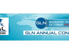 adobeonly tarafından Design a Banner for 2015 Conference for Global Logistics Network için no 13
