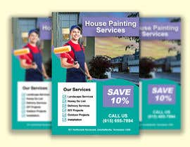#69 for House paint flyer by amamila