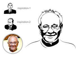 #18 untuk Need a caricature/sketch/artistic variation for a notable person who passed away recently. oleh mohinofficial