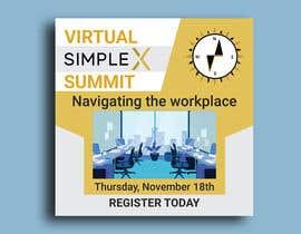 #56 untuk Flyer for a virtual summit oleh shohelhasan01