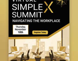 #67 untuk Flyer for a virtual summit oleh MdHumayun0747