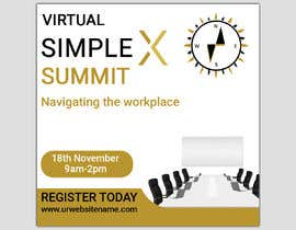 monower032 tarafından Make a flyer for a virtual summit için no 120