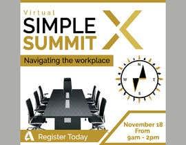 fatema4093 tarafından Make a flyer for a virtual summit için no 125