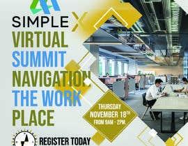 Robindesigne tarafından Make a flyer for a virtual summit için no 131
