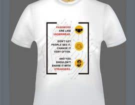 Nro 20 kilpailuun Tech company Tee-shirt design käyttäjältä azamansari8081