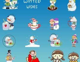 #11 untuk Christmas Clipart Pack -  Design Clipart from Scratch for my Stickers oleh tazmd3163