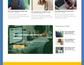 #7 for Create wordpress page on avada theme from .PSD provided - mobile version as well. by hosnearasharif