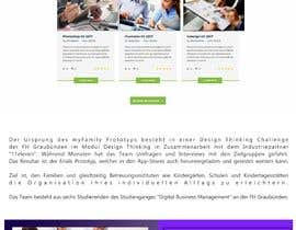 #35 for Create wordpress page on avada theme from .PSD provided - mobile version as well. by lupaya9