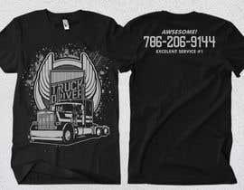 #56 para Custom T-shirt for company truck drivers por Rheanza