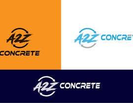 Nro 284 kilpailuun Logo for A2Z Concrete käyttäjältä sankrishmon