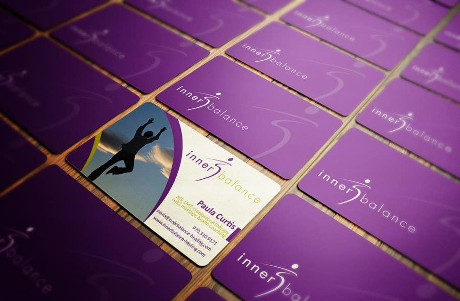 Penyertaan Peraduan #28 untuk Design Some Business Cards for Therapeutic Massage Practice