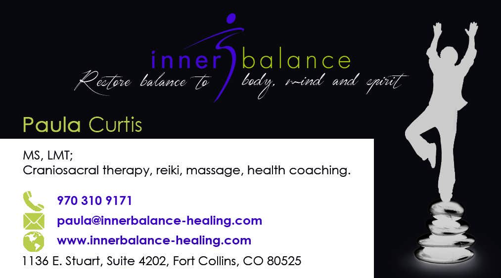 Contest Entry #                                        14                                      for                                         Design Some Business Cards for Therapeutic Massage Practice