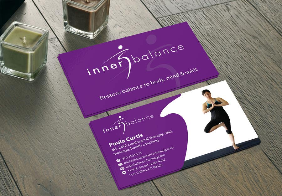 Contest Entry #                                        16                                      for                                         Design Some Business Cards for Therapeutic Massage Practice