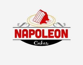 Nro 17 kilpailuun Design a Logo for 'Napoleon Cakes' käyttäjältä rohan4lyphe