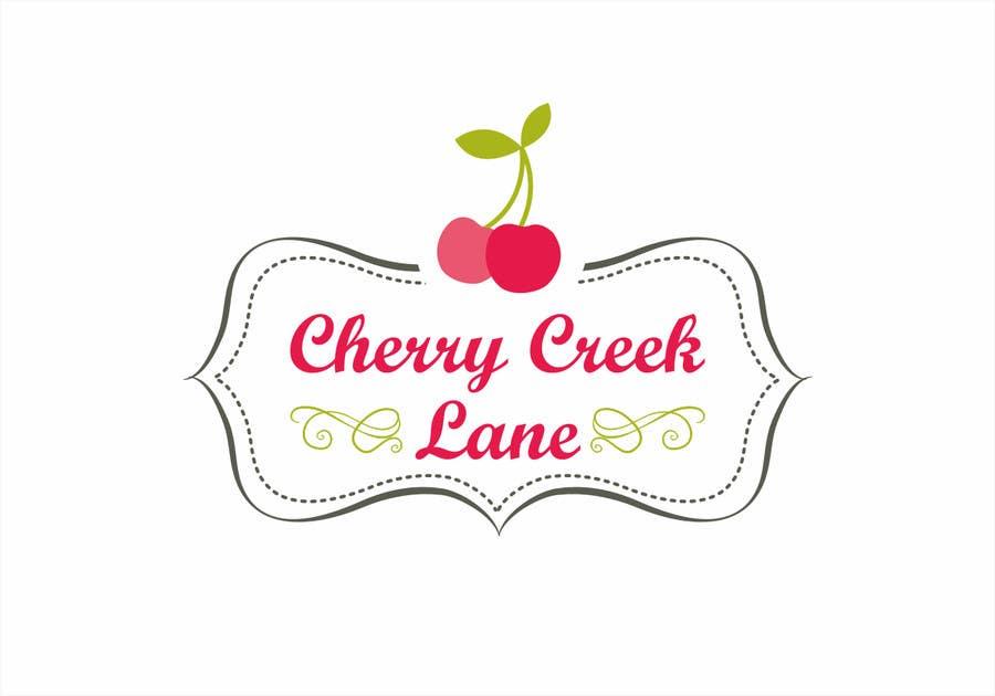 Inscrição nº 50 do Concurso para Design a Logo for an online retail shop called Cherry Creek Lane