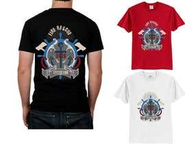 #8 para Design a T-Shirt for  Fire fighters por VikiFil