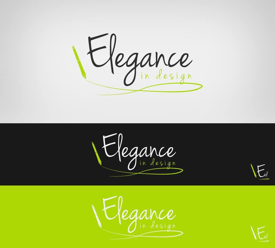 Proposition n°53 du concours Design a Logo for Elegance in Design, LLC