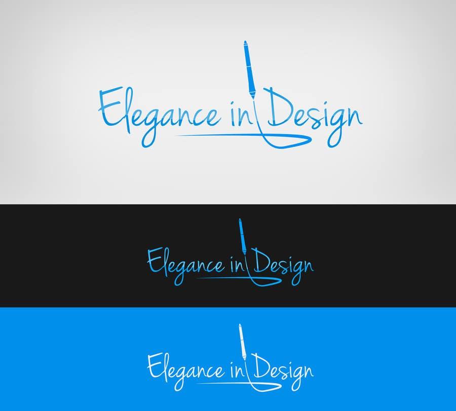 Proposition n°60 du concours Design a Logo for Elegance in Design, LLC