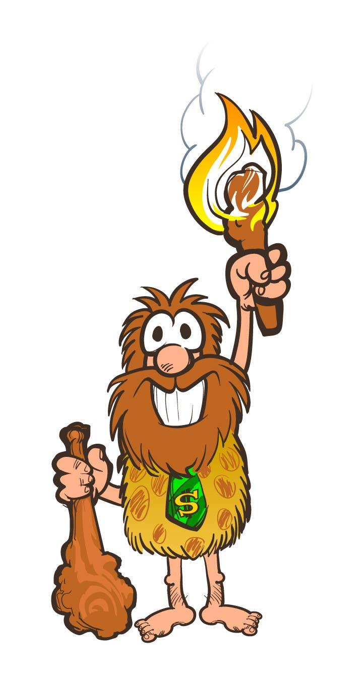 Kilpailutyö #17 kilpailussa Draw a Caveman (who is a businessman)
