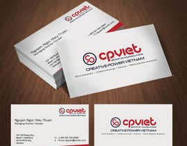 #100 para Design some Business Cards for CPVIET por wizardofdesign