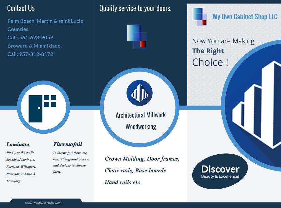 Konkurrenceindlæg #                                        5                                      for                                         Trifold Brochure Design