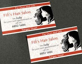#47 untuk Design some Business Cards for hair dressing salon oleh AlexTV