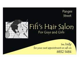 #25 untuk Design some Business Cards for hair dressing salon oleh Shrey0017