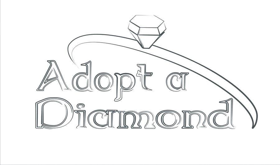 Konkurrenceindlæg #                                        12                                      for                                         Design a Logo for Diamond Ring Website