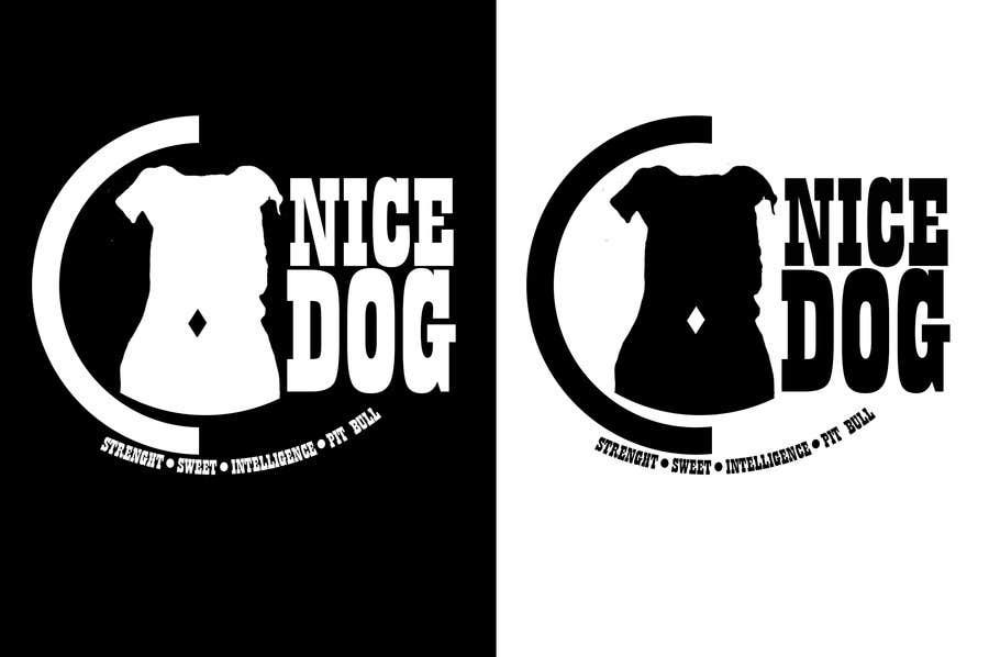 Kilpailutyö #9 kilpailussa Logo image for Pit Bull dog brand